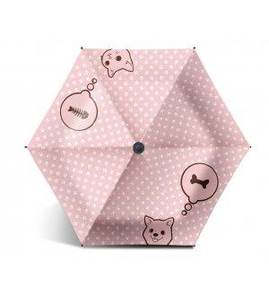 UV Colour Coated Cat & Dog Umbrella