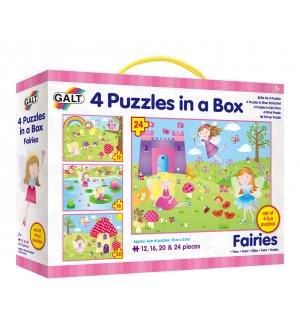 4 Puzzles in a Box - Fairies
