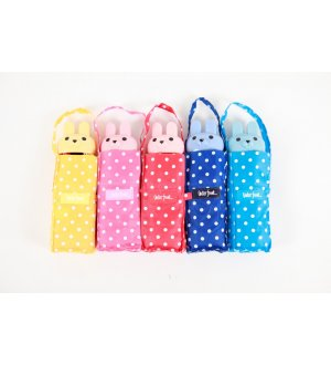 Waterfront Kawaii Rabbit Compact Umbrella