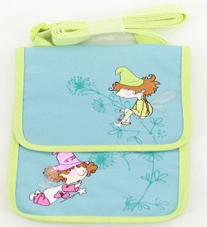 Twin fairies sling pouch