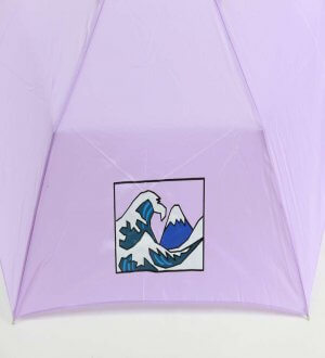 Waterfront Mt Fuji Flat Umbrella