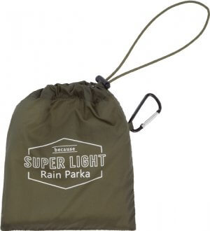 Super Light Rain Parka 150grams