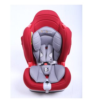 Sports Car Seat - Red/Grey.