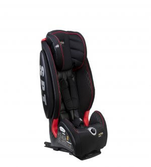 Easy Rider Plus C/W ISOFIX & Top Teether Black