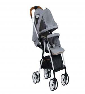 Luxos Light Weight Stroller - Light Grey