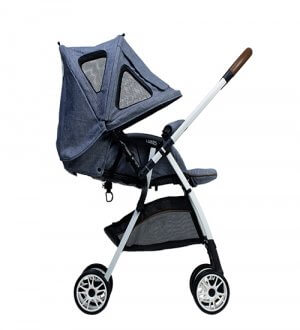 Luxos Light Weight Stroller - Light Blue