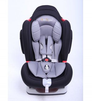 Sports Car Seat - Black/Grey.