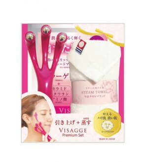 Face Uplift Roller Towel Gift Set