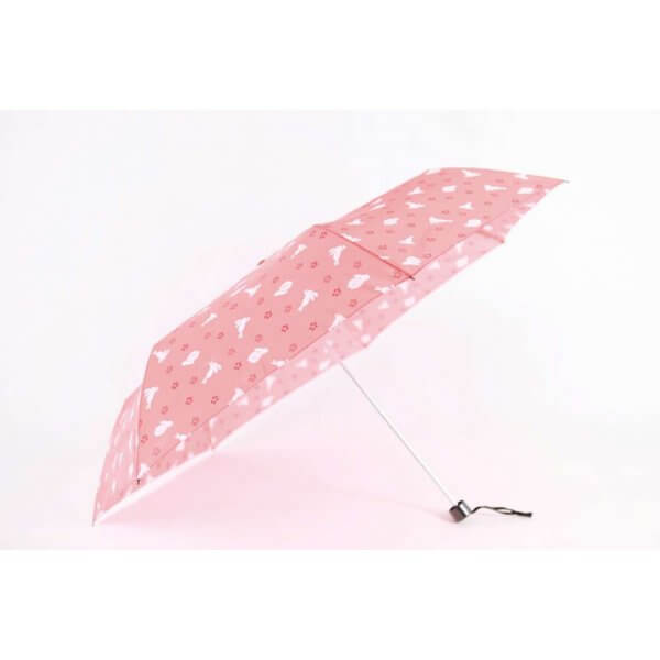 Waterfront Bunny Floral Prints Umbrella