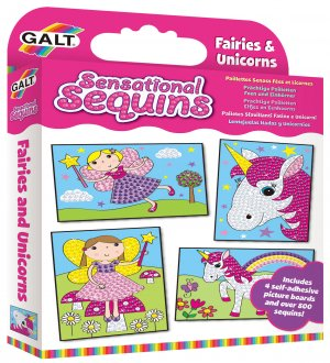 Fairies & Unicorns Sensational Sequins