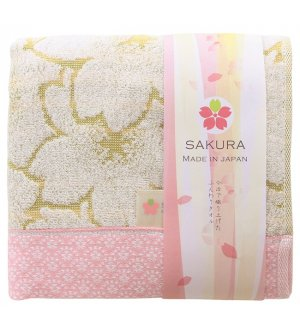 Japan Imabari Sakura Cotton Bath Towel