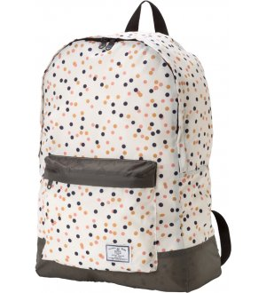 Ladies Rain Backpack Random Dots
