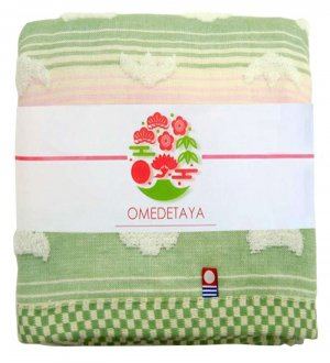 Japan Imabari Botanical Cotton Bath Towel