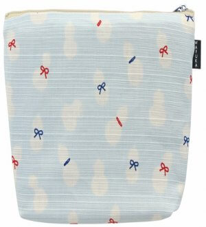 Cosmetics Japanese Pouch Petite Ribbon