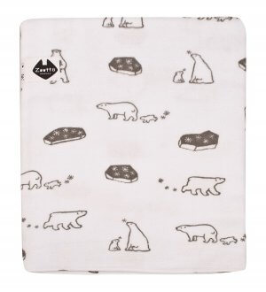 Zootto Polar Bear Bath Towel
