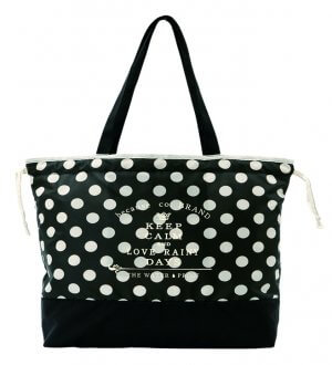 Ladies Rain Bag dots