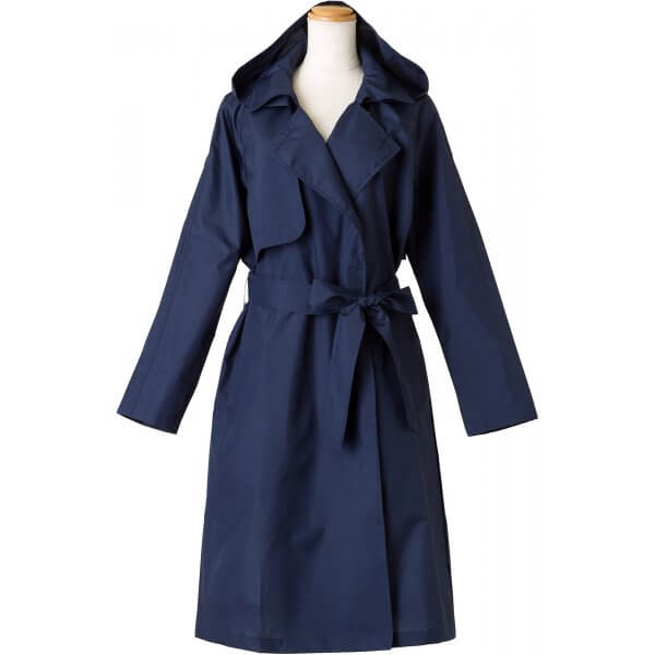 Ladies Pattern Trench Coat