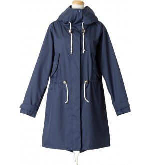Ladies Field Raincoat in Navy
