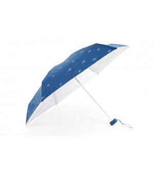 Mini Folding Umbrella with UV Coating butterfly prints with Lace