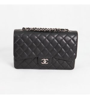 Chanel Jumbo Black Caviar