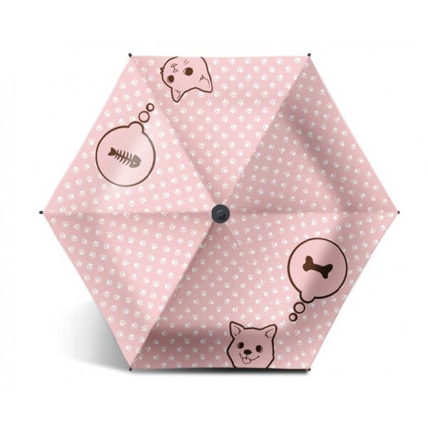 Umbrella Label 99.9%UV Blockout Cat & Dog