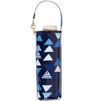 80% UV Compact Triangle Mini Umbrella