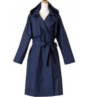 Ladies Pattern Trench Coat
