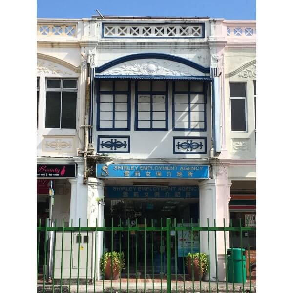 2 Storey Intermediate Shophouse with Attic