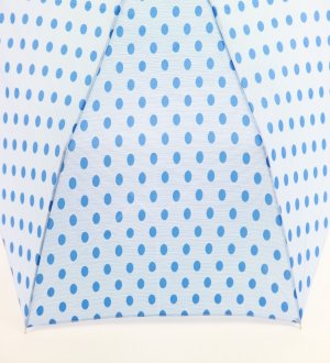 Waterfront Flat Folding Umbrella Polka Dots