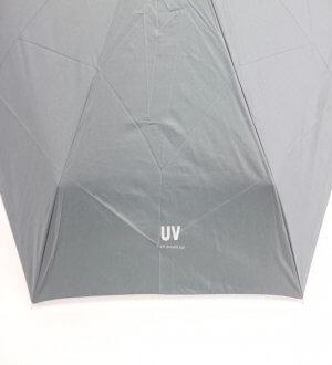 Mini Folding Umbrella with UV Coating in Plain Colours